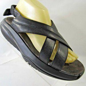 MBT TNTLKTA Size US 9 Black Toning Sandals B2D6
